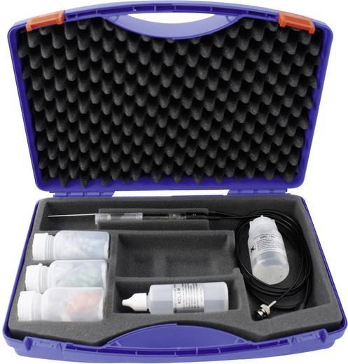 Greisinger SET 35 ES kiegészítő szett GMH 3530-hoz, pH elektróda, hőmérséklet érzékelő és tartozékok