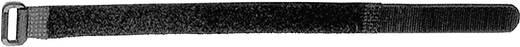Tépőzáras kábelkötegelő, bolyhos és horgos fél (H x Sz) 457 mm x 19 mm fekete LappKabel FOL 500-50-0 10 db