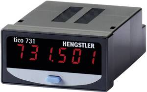 Impulzusszámláló modul 0 - 999999-ig 12-24V/DCHengstler tico 731 Typ 5 Hengstler