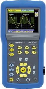 Metrix OX 5042-CK Kézi oszcilloszkóp (scope-meter) 40 MHz 2 csatornás 50 Msa/s 2.5 kpts 9 bit Digitális memória (DSO), Metrix