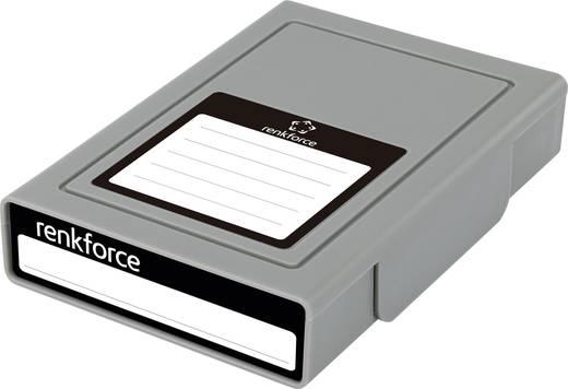 Merevlemez tároló doboz, Renkforce HY-EB-8500 Szürke