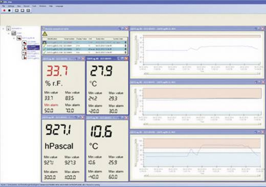 Greisinger EBS 20M szoftver EASYBus, GMH kéziműszerek és GDUSB 1000-hez
