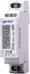 DIN sínre szerelhető 1 fázisú digitális fogyasztásmérő 80A, ENTES ES-80L ENTES