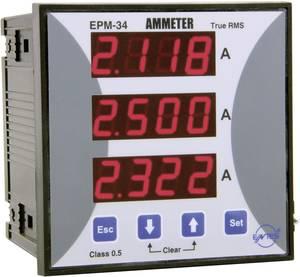 Beépíthető programozható 3 fázisú AC árammérő, ENTES EPM-34-96 ENTES