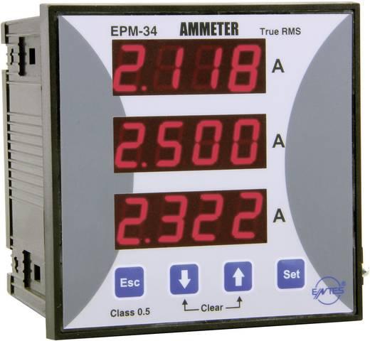 Beépíthető programozható 3 fázisú AC árammérő, ENTES EPM-34-96