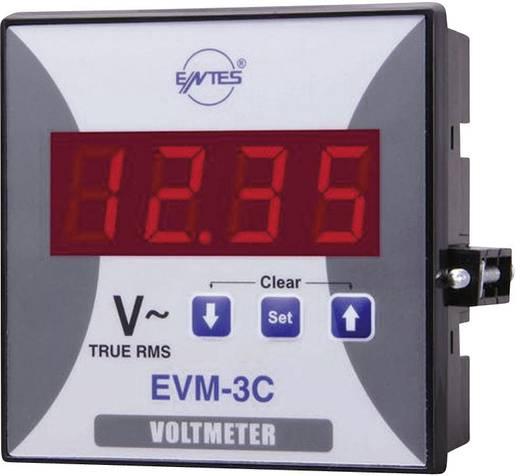 Beépíthető feszültségmérő műszer, ENTES EVM-3C-96