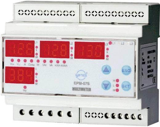 Beépítehtő multiméter, ENTES EPM-07S-DIN