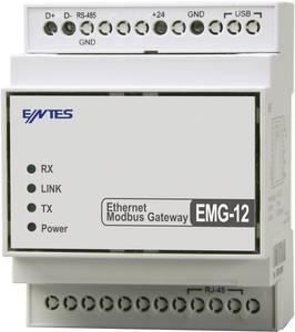 Gateway RS-485, USB ENTES EMG-12 12/24 VDC ENTES