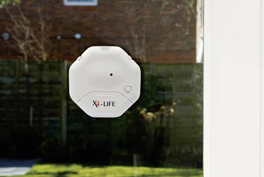 Üvegtörés érzékelő, riasztó, 95 dB X4-LIFE 701231