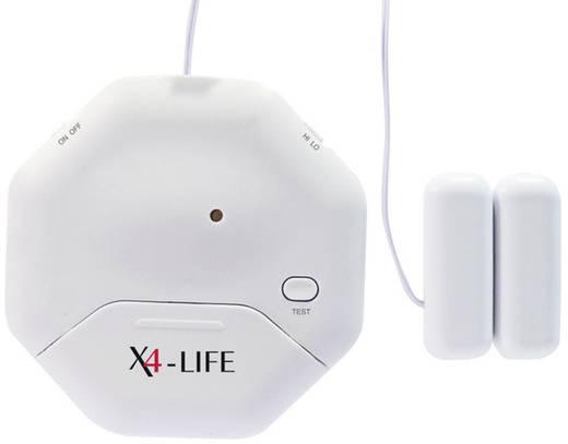 Üvegtörés érzékelő és ajtó- és ablak riasztó, 95 dB X4-LIFE 701331