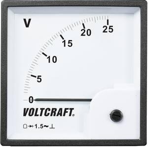 Analóg beépíthető táblaműszer, beépíthető voltmérő 25V Voltcraft AM 96x96 VOLTCRAFT
