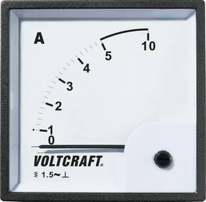 Analóg beépíthető lágyvasas táblaműszer, beépíthető árammérő műszer 5A Voltcraft AM 96x96 VOLTCRAFT