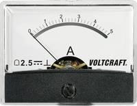 Beépíthető analóg lengőtekercses árammérő műszer 5A/DC Voltcraft AM-60x46 VOLTCRAFT
