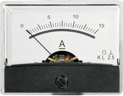 Beépíthető analóg lengőtekercses árammérő műszer 15A/DC Voltcraft AM-60x46
