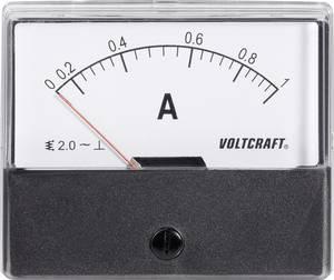 Analóg beépíthető lágyvasas táblaműszer, beépíthető árammérő műszer 1A Voltcraft AM 70x60 (AM-70X60/1A) VOLTCRAFT