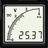 Beépíthető voltmérő 6 – 300 V/DC Trumeter APMDCV72-TW APMDCV72-TW DC Trumeter