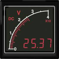 APMDCV72-TG DC feszültségmérő sávos kijelzővel, háttérvilágítás zöld Trumeter