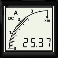 APMACV72-NTR AC voltméter vonalsor kijelzéssel, negatív piros háttérvilágítás Trumeter