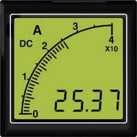 APMDCA72-TW DC amperméter vonalsor kijelzéssel, fehér háttérvilágítás Trumeter