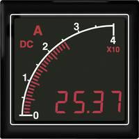 APMDCA72-TG DC amperméter vonalsor kijelzéssel, zöld háttérvilágítás Trumeter