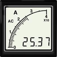 APMDCA72-NTR DC amperméter vonalsor kijelzéssel, negatív piros háttérvilágítás Trumeter