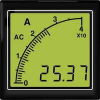 APMACA72-TW AC amperméter vonalsor kijelzéssel, fehér háttérvilágítás Trumeter