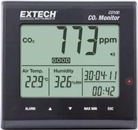 Széndioxid CO2 mérőműszer, levegőminőség mérő 0 - 9999 ppm, Extech CO100 (CO100) Extech