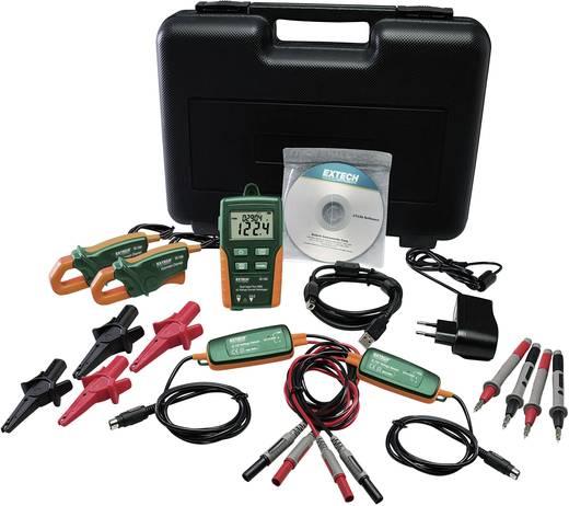 Valódi effektívéték (TrueRMS) mérési adatgyűjtő, két csatornás 600 V/AC, 200 A/AC Extech DL160