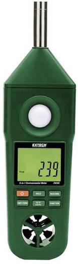 Környezetvédelmi mérőműszer 5az1-ben hőmérséklet, páratartalom, szélsebesség, fényerősség és zajszintmérő Extech EN300