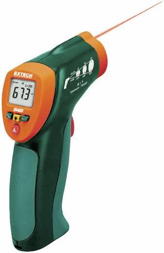 Infra hőmérő pisztoly, távhőmérő lézeres célzóval 8:1 optikával -20 + 332 °C Extech IR400