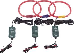 Flexibilis, AC váltóáramú lakatfogó mérőadapter készlet EXTECH PQ3450, PQ3470 teljesítmény analizáló műszerhez PQ34-30 Extech