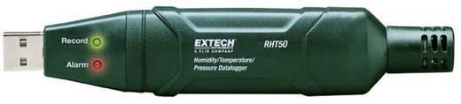USB-s mérés adatgyűjtő, hőmérésklet, páratartalom, légnyomás adatgyűjtő 10000 adattárolással Extech RHT50