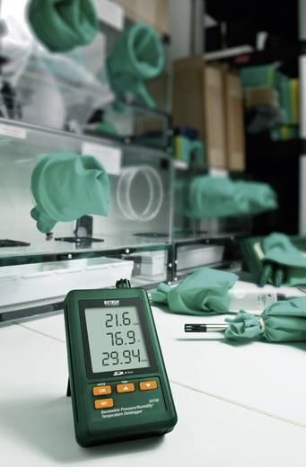 Levegő minőség mérés adatgyűjtő, SD kártyás LCD kijelzővel hőmérséklet, páratartalom, légnyomás, Extech SD700