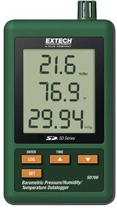 Levegő minőség mérés adatgyűjtő, SD kártyás LCD kijelzővel hőmérséklet, páratartalom, légnyomás, Extech SD700 Extech