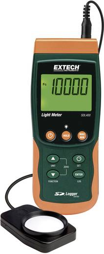 Digitális fényerősség mérő, fénymérő, luxméter adatgyűjtő műszer Extech SDL400
