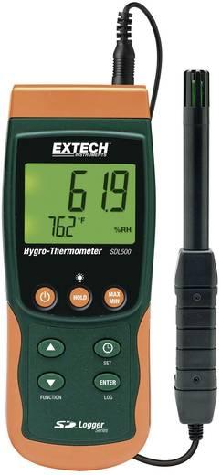 Levegő hőmérséklet és páratartalommérő műszer, thermo - hygrométer adatgyűjtő Extech SDL500