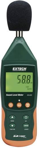 Digitális zajszintmérő, decibelmérő adatgyűjtővel 31.5 - 8000 Hz IEC EN 61672-1 Extech SDL600