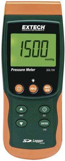 Digitális nyomásmérő műszer adatgyűjtővel gázok és folyadékok mérésére 2 mbar - 20 bar Extech SDL700