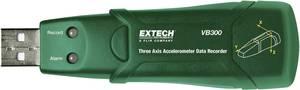 3 tengelyű gyorsulásmérő, gyorsulási erő, rázkódás és vibrációs erő adatgyűjtő Extech VB300 Extech