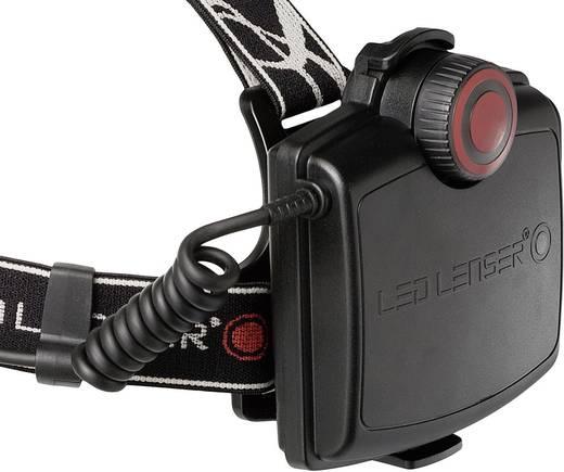LED-es akkus fejlámpa 340g, fekete, LED Lenser H14R.2 7299-R