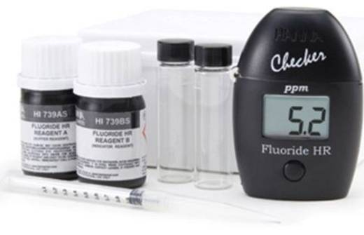 Hanna Instruments HI 739 Koloriméter a fluoridtartalom méréséhez