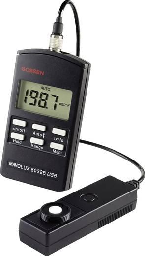 Fénymérő, 0,1-199900 lx, Gossen Mavolux 5032 C USB