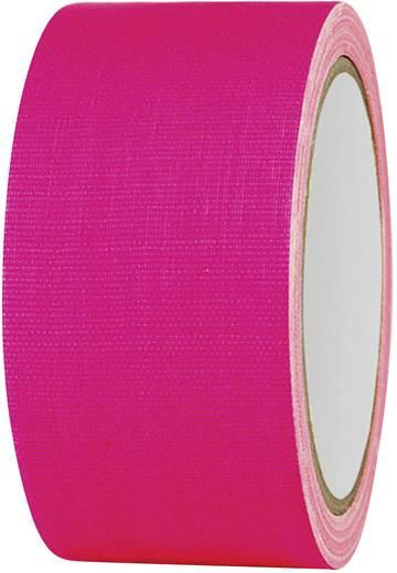 Gaffer ragasztószalag (H x Sz) 25 m x 50 mm Neon-pink 80FL5025PC TOOLCRAFT