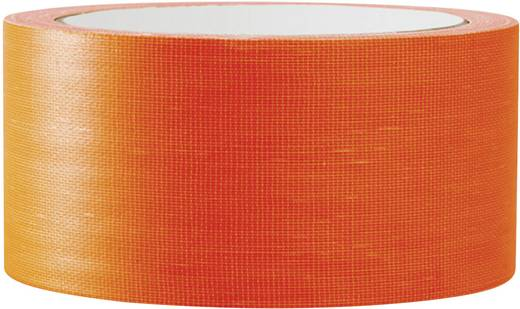 Gaffer ragasztószalag (H x Sz) 25 m x 50 mm Neon-narancs 80FL5025OC TOOLCRAFT