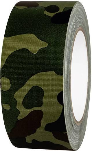 Gaffer ragasztószalag (H x Sz) 25 m x 50 mm Terepszínű 80B50L25CC TOOLCRAFT