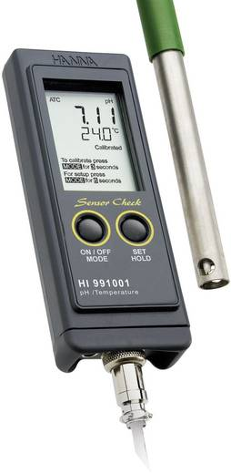 Hanna Instruments HI 991001 pH mérő, -2 ... +16 pH, -5 ... +105 °C