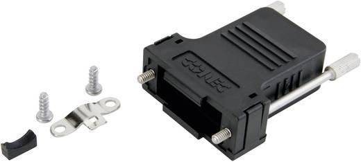 D-SUB doboz pólusszám: 9 műanyag 180 ° Fekete Conec 165X13369XE 1 db