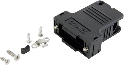 D-SUB doboz pólusszám: 50 műanyag 45 ° Fekete Conec 165X13459XE 1 db
