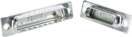 D-SUB Árnyékolósapka, Conec 165X12989X ezüst 1 db