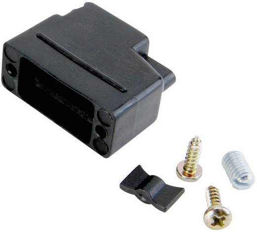 D-SUB doboz pólusszám: 37 műanyag 180 ° Fekete Conec 165X10419XE 1 db
